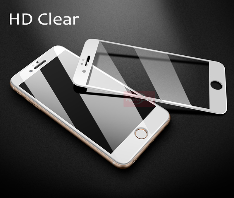 RONICAN 3D Carbon Fiber Anti Blue Tempered Glass For iPhone 6 6S Plus Screen Protector Film For iPhone 7 7plus Protective Film (10)1