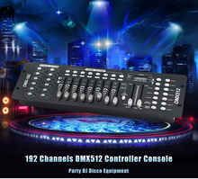 Premium High efficiency Low Energy Consumption 192 Channels DMX512 Controller Console Effect Lighting For Stage Party DJ Light(China)