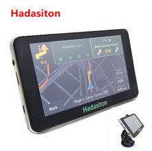 HOT! 5 inch Car GPS Navigation Sat Nav CPU800M Wince6.0+128M/4GB+FM Transmitter+Multi-languages+Free latest Maps(China)