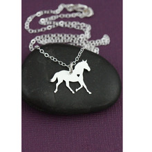 SALE Horse Necklace  Personalized Horse Barrel Racing Horse Racing Equestrian Pet Horse  Lover gift