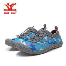 Xiangguan 2017 Summer mens Running Shoes Camouflage Breathable Walking Shoes Man Lazy Shoe Cheap Online Sale EUR size 39-44(China)