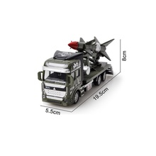 1:48 Scale Alloy Pull Back Diecast Vehicles Military Vehicle Car Toy Model for Kids Xmas Gift(China)