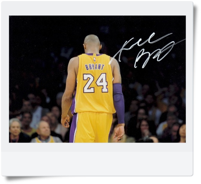 signed Kobe Bryant autographed  original photo 7  inches free shipping 6 versions 082017A<br>