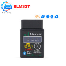 Hot Auto Car ELM327 Bluetooth V2.1 OBD 2 mini Diagnostic Tool elm 327 OBD II Code Reader works on android
