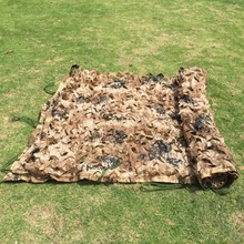 1.5x4mHunting Camping Camo Net Military Camouflage Net Woodland Army Camo netting Hot sale Camping Sun Shelter Tent Shade net(China)
