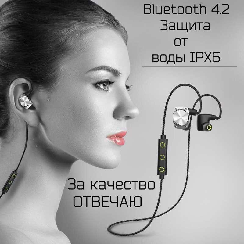 mifo U6 Wireless Bluetooth Headset Waterproof Sport Headphones Noise Cancelling Running Earbuds Bluetooth Earphone for iphone <br>