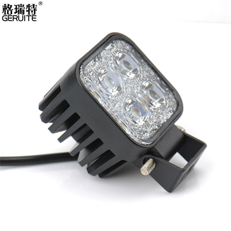 2PCS DC12-24V 12W  Work Light Waterproof Cool White High Power Spot light for Off-board Car Boat Worklight For SUV BMW Truck<br><br>Aliexpress