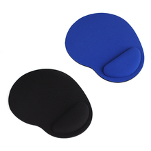 New Cheap Mini Gaming Mouse Pad Gamer Mousepad Wrist Rest Support Comfort Mice Pad Mat for Desktop Computer Black /Blue Color