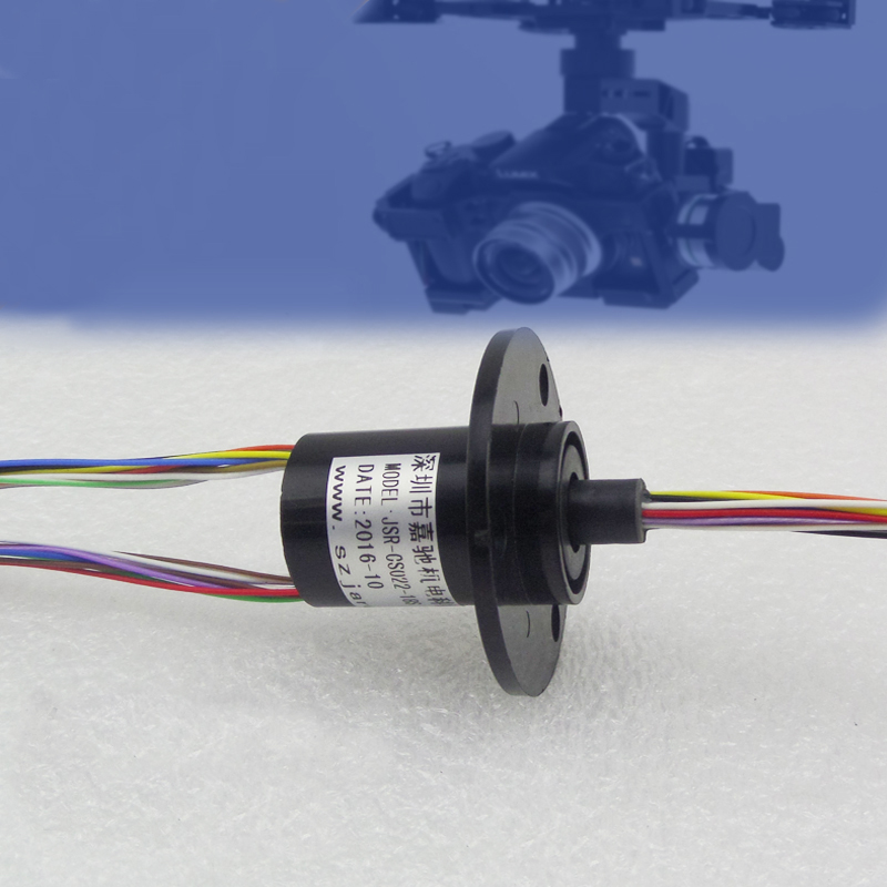 22mm Out Diameter 18 Channel 2A FPV UAV RC Drone Accessories Slip Ring Gimbal Slip Rings Conductive slip-ring<br>