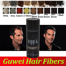 TOPPIK hair building fibers factory direct sale with good quality for hair loss thinning hair 27.5g(China)