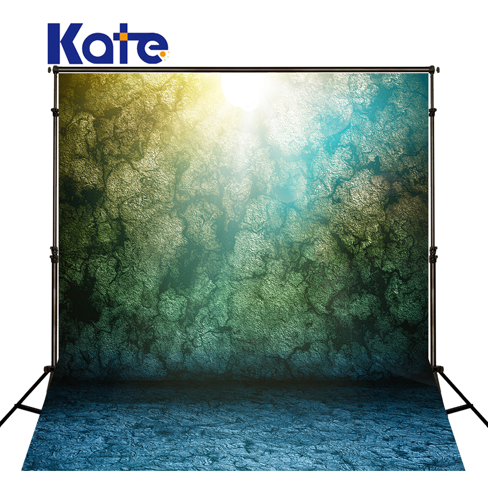 Kate Retro Peacock Color Lines Brick Wall Photography Background 200Cm*300Cm No Wrinkles Kate Fondo Para Boda Fundos Fotografia<br>