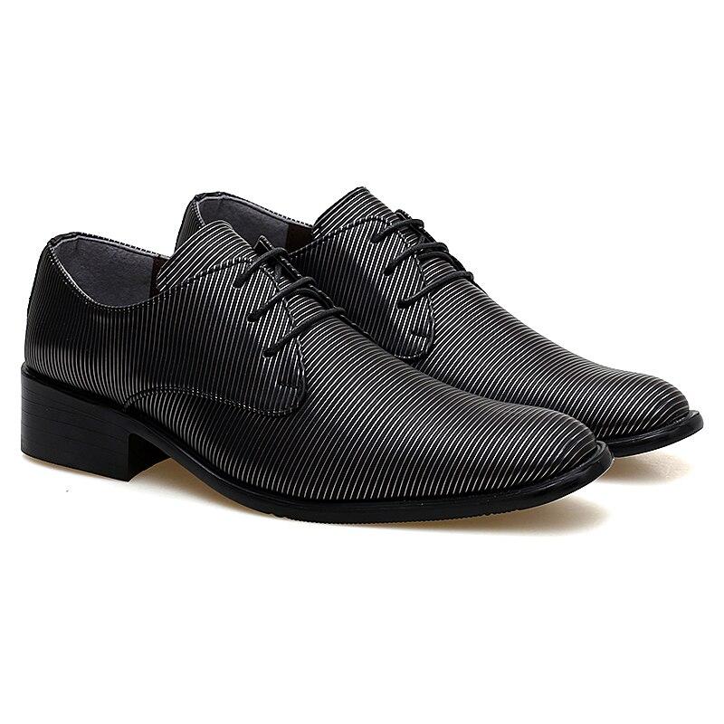 designer striped shoes men luxury brand fashion camouflage italian pointed male footwear designer man dress oxford shoes for men (51)