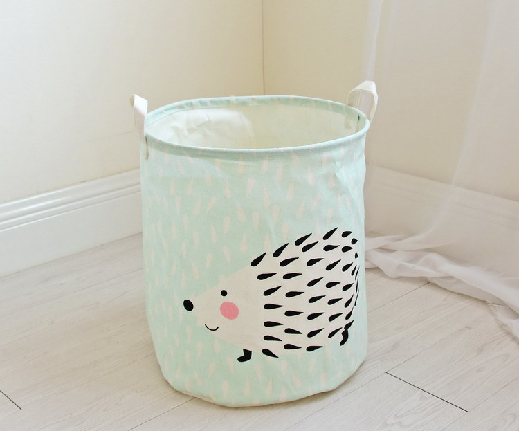 Free shipping Laundry Basket Storage 40*50cm Large Basket For Toy Washing Basket Dirty Clothes Sundries Storage Baskets Box 12