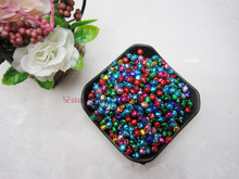 Free Shipping 200pcs/lot Mixed Colors 6mm Jingle Bell decoration