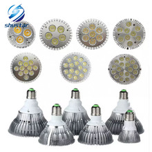Dimmable Led bulb par38 par30 par20 85-240V 9W 10W 14W 18W 24W 30W 36W E27 par 20 30 38 Lighting Spot Lamp light downlight 50(China)