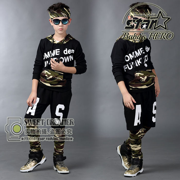 Hot 2018 Childrens Clothing Sets April Autumn Boys Girls Sports Set Kids Dance Clothes Boys Clothing Sets<br>