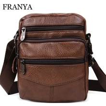 2017 Hot sale New fashion genuine leather handbags small shoulder bag men messenger bags mini bag brand handbags