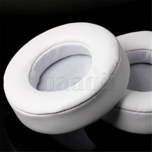 White Replacement Ear Pad Earpad Cushion replacement fit for Beat By Dr Dre PRO DETOX Headphone A658X2
