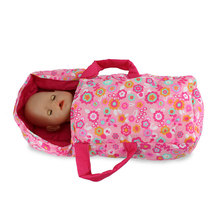 New Printing Doll Sleeping Bag, 43cm Zapf Baby Reborn Dolls  Accessories