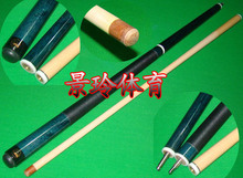Free shipping billiard punch Jump-break cue stick 3/4 Classic black 8 american Maple wood cue stick with 13mm leather tip 58inch