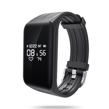 Newest Fitness Tracker k1 Smart Bracelet Real-time Heart Rate Monitor down to Sec Smart Band Activity Tracker(China)