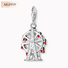 Ferris Wheel Charm,Thomas Style Muffiy Club Good Jewelry For Women,2017 Ts City Gift In 925 Silver Fit Bag Bracelet,Super Deals