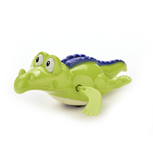 New Born Babies Kid Cute Bath Toys Crocodile Clockwork Plastic Swimming Toys Classic Toys