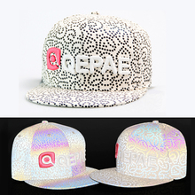 Cool Riding Caps Reflective Safty Riding Caps Embroidery Pattern Breathable Anti-Sweat Hat Leisure Practical Cycling Headwear(China)