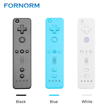 FORNORM Wireless Remote Controller for Nintendo Wii Motion Plus Game Console Without Silicone Case Accessories(China)