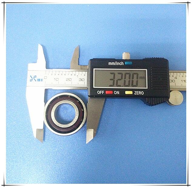 1pcs UTE 7002 7002C H7002C 2RZ P4 15*32*9mm Sealed Angular Contact Bearings Engraving Machine Speed Spindle Bearings CNC Bearing<br>