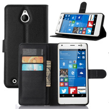 Luxury Wallet Style Filp PU Leather Case for Microsoft Lumia 850 with Card Holders Smart Stand Soft Cover case for Lumia 850