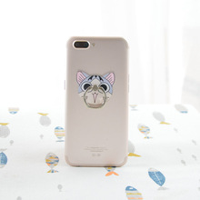 Koteta Anime Chi's Sweet Home Cat Model Figure Metal Finger Ring Mobile Phone Stand holder for iphone(China)