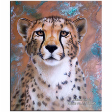 Diamond Embroidery DIY Diamond Painting Cross Stitch Kit Animal tiger Picture 5D Needlework Diamond Mosaic Home Decoration VS212