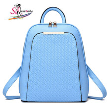 2017 High Quality Leisure Pu Leather Backpack Women Or Men Laptop Travel Fashion School Bags For Teenagers&girls Tote Backpack