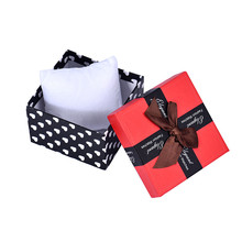 1PC Durable Present Gift Box Case For Bracelet Bangle Jewelry Watch Storage Box Dots Print Cute Bow Red Luxury Boxes Cheap Price(China)