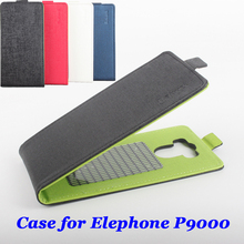 Mixed color High Quality Luxury Leather Case For Elephone P9000 Cover Case housing For Elephone P 9000 Cellphone cases