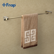 Frap Retro Style Wall Mounted Bronze Surface Single Towel Bars Bathroom Towel Hanger Bathroom Accessories Towel Rack F1401(China)