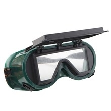 NEW Industrial Welding Goggles Head Clamshell Protection Glasses Mask Green Square Workplace Safety(China)