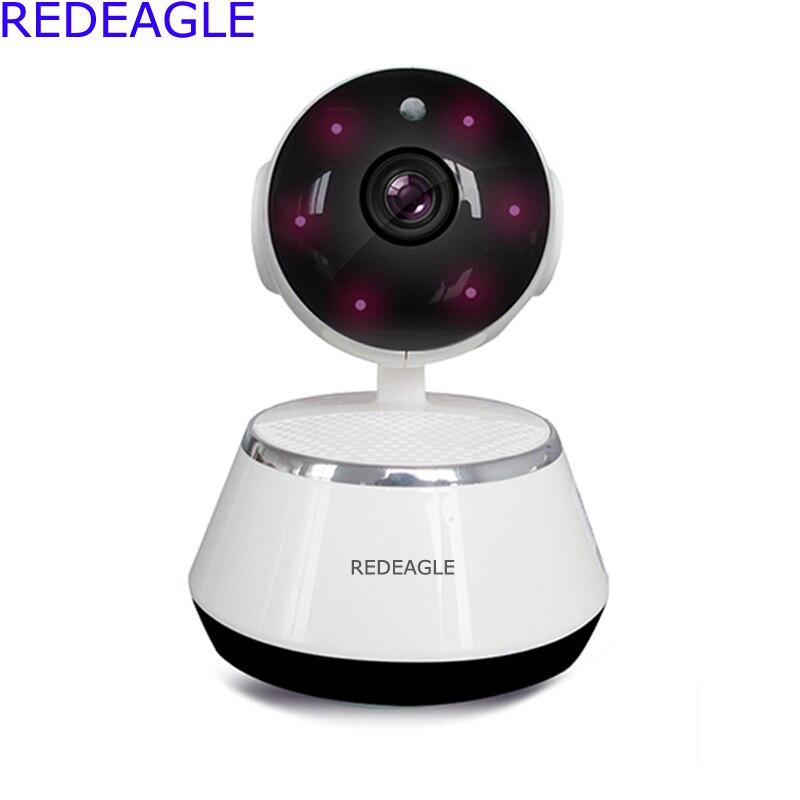 REDEAGLE Home Security Wireless WiFi IP Camera 720P Night Vision P2P Surveillance CCTV Mini Cameras Baby Monitor<br>