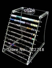 Display,acrylic display unit for large hole beads european style charm beads,sold individually(China)
