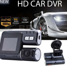2017 New HD 1080P Dual Lens Car Vehicle DVR Camera Dashboard Video Record G Sensor Camera