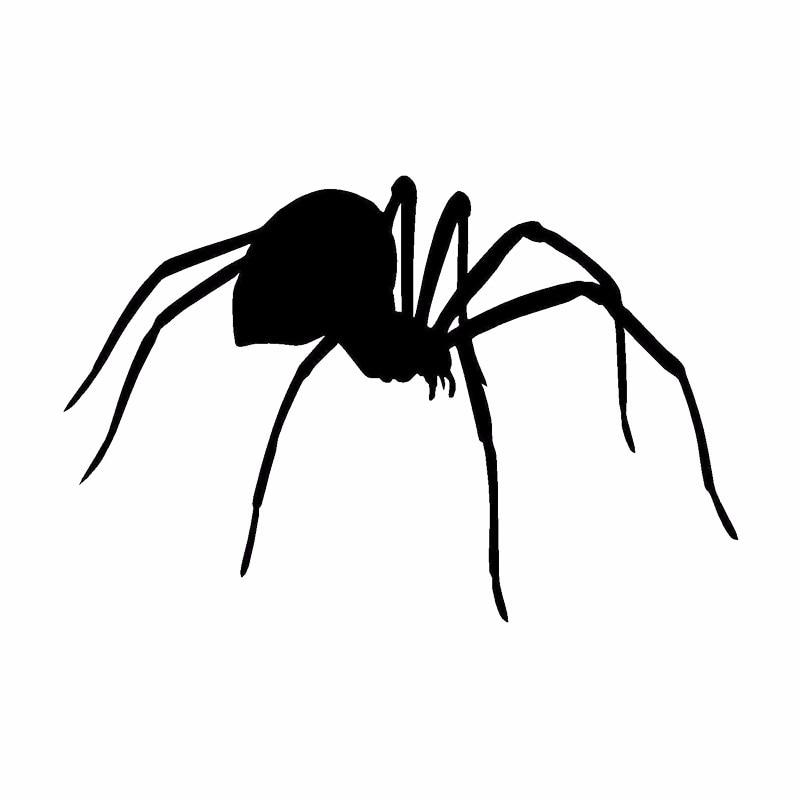 SPIDER VINYL DECAL STICKER WINDOW WALL CAR BUMPER LAPTOP BLACK WIDOW CREEPY