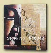 Buddha painting wholesale home decorate reproduction high quality  chinese oil paintings