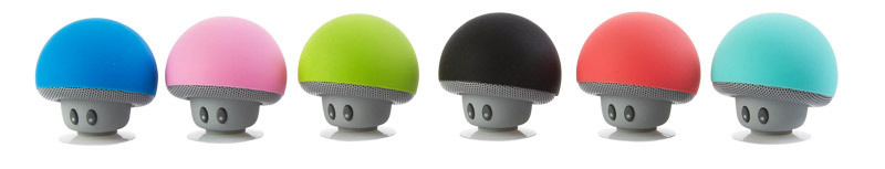 New Mini Mushroom Bluetooth Speaker Portable Wireless Loudspeaker Heavy Bass Stereo Music Speakers for phone