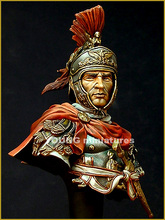 1/10 BUST Resin Figure Model Kit Roman Cavalry Officer Unassambled Unpainted(China)