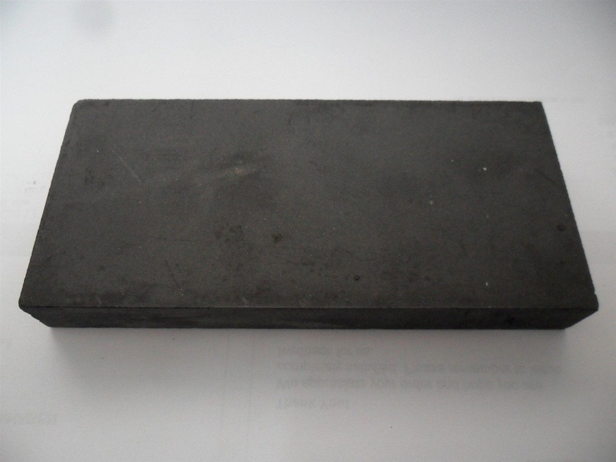 250 x 120 x 17mm High Purity Graphite Plate  /Coarse grained graphite blocks in chemical industries<br>