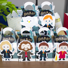 Harry Potter  Favor Box Candy Box Gift Box Cupcake Box Boy Kids Birthday Party Supplies Decoration Event Party Supplies