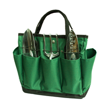 Wholesale Garden Tool Bag Hot Sale Multi Popose Oxford Garden Tool Set Storage Gardening Tote Bag Kit Carry Organizer