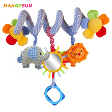 Plush Baby Toy Educational Newborn Mobile Rattles Toys For Kids Colorful Baby Stroller Infant Toys bed Hanging Girl Boy Toys