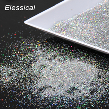 10g Silver Color Nail Art Powder Dust Silver Plated Glitter Powder Women Make Up DIY Tool Wholesale WY545(China)